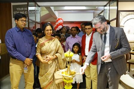 Mr. Thomas Johan, COO, EVOK inaugurates 4th store at PR Business Centre, Marathahalli (ballendur), Bangalore today.